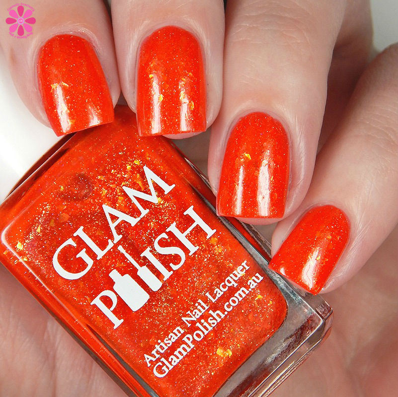 Glam Polish Say Cheese and Die Down