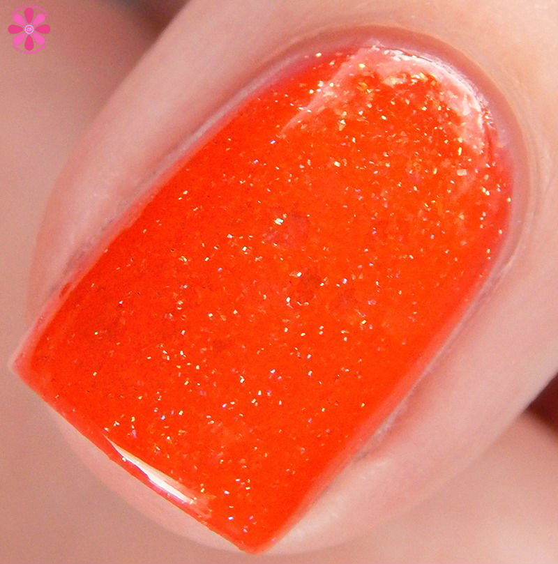 Glam Polish Say Cheese and Die Macro