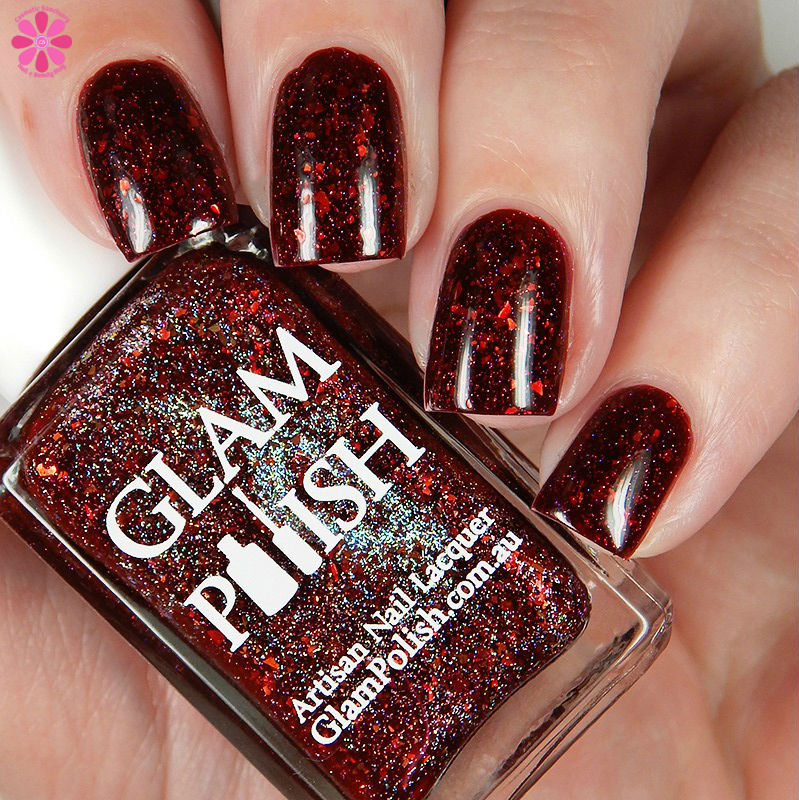 Glam Polish Vampire Breath Down