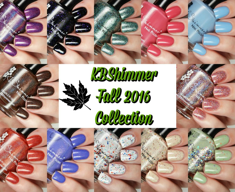 KBShimmer Fall 2016 Collection Main