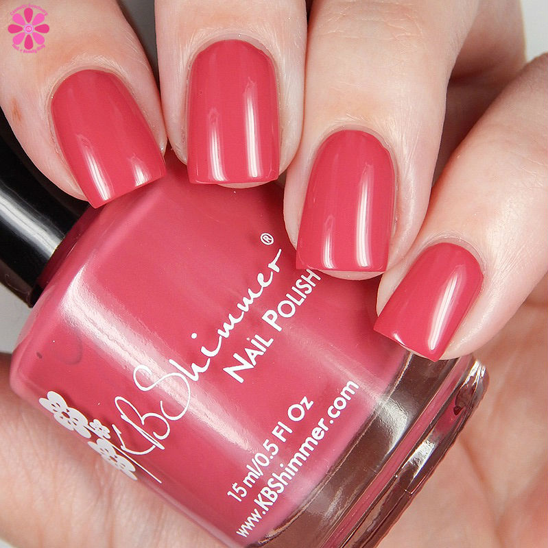 KBShimmer Fall 2016 Grin and Gerbera It Down