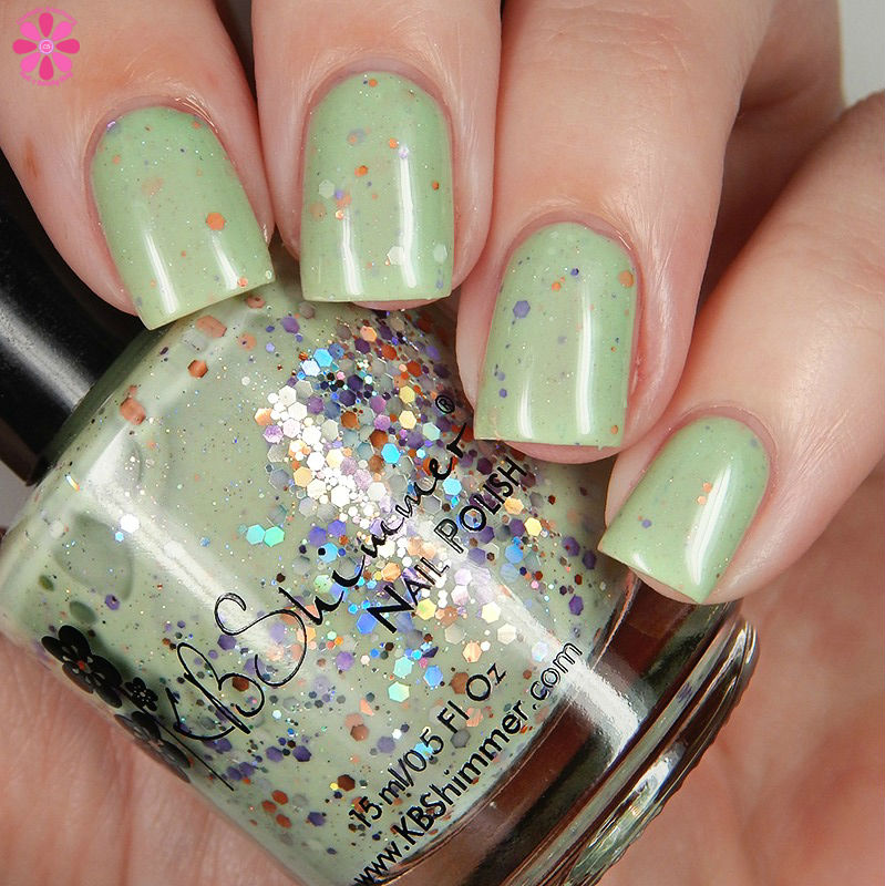 KBShimmer Fall 2016 Sage It Ain't So Down