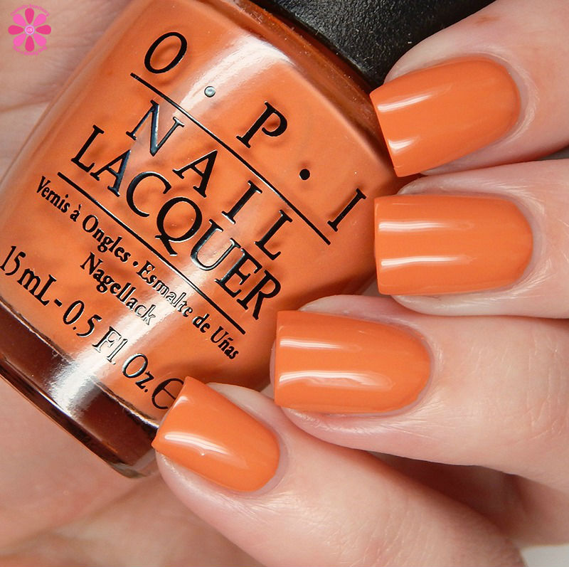 OPI Fall 2016 Washington DC Collection Freedom Of Peach