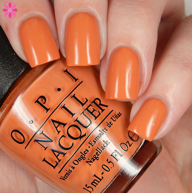 OPI Fall 2016 Washington DC Collection Freedom Of Peach Down