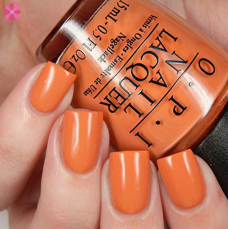 OPI Fall 2016 Washington DC Collection Freedom Of Peach Up