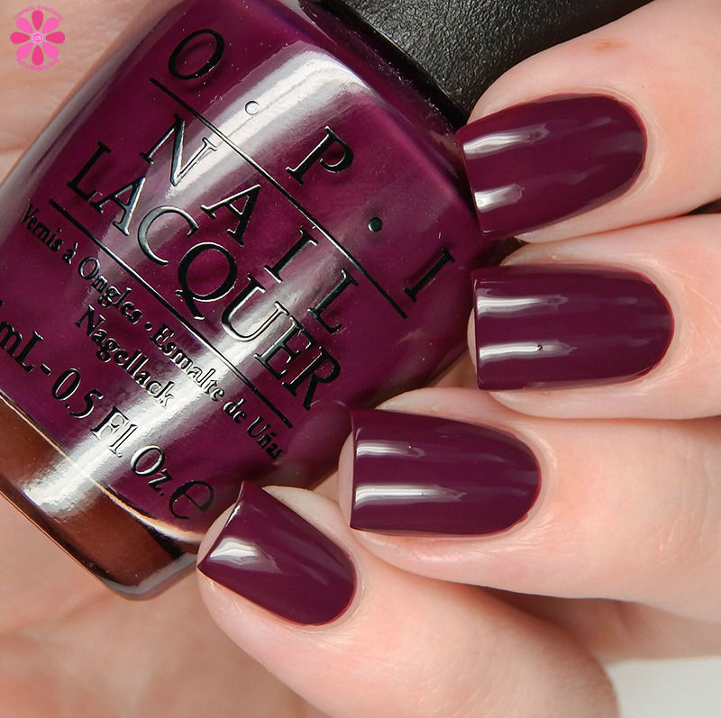 OPI Fall 2016 Washington DC Collection Kerry Blossom