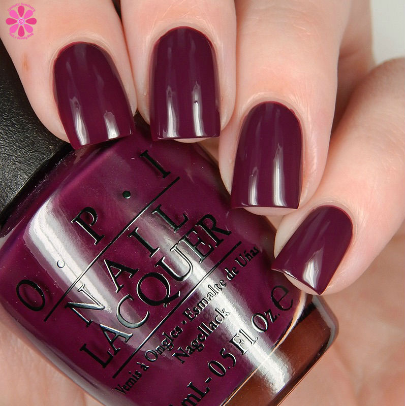 OPI Fall 2016 Washington DC Collection Kerry Blossom Down