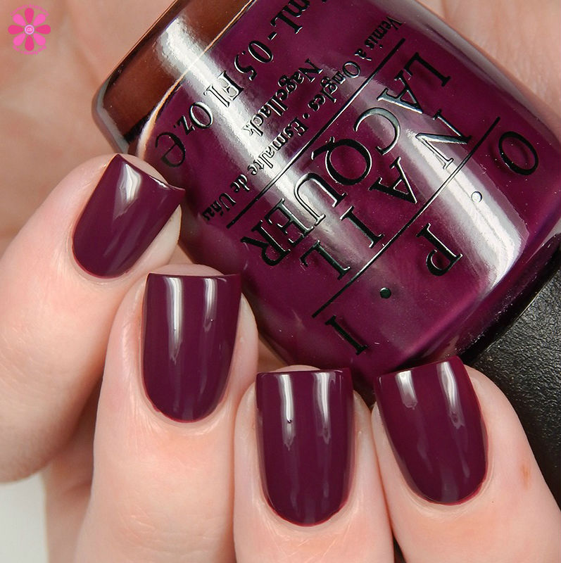 OPI Fall 2016 Washington DC Collection Kerry Blossom Up