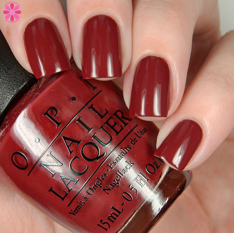 OPI Fall 2016 Washington DC Collection We The Female Down