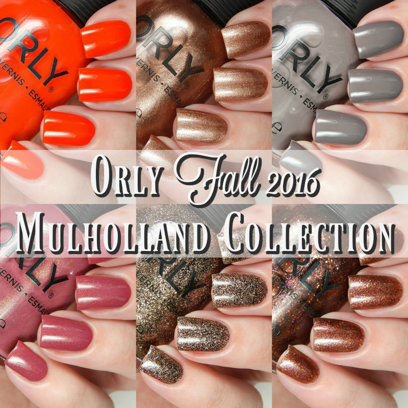 Orly Fall 2016 Mulholland Collection Main