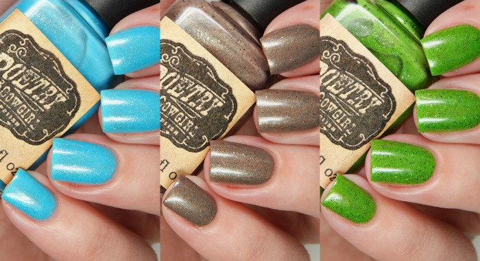 Poetry Cowgirl Nail Polish Summer In The Backyard Collection