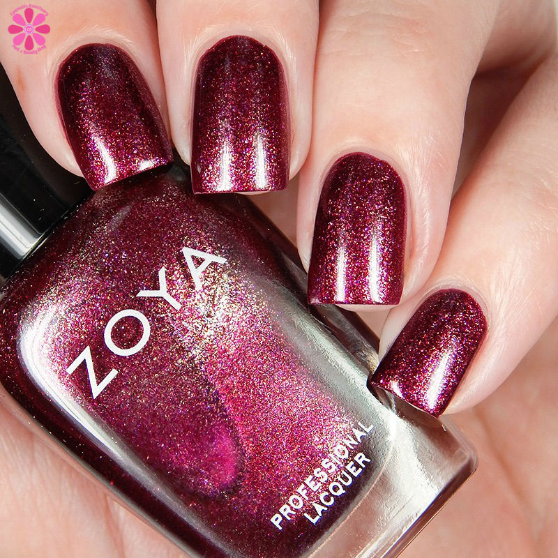 Zoya Fall 2016 Urban Grunge Metallic Holos Britta Down