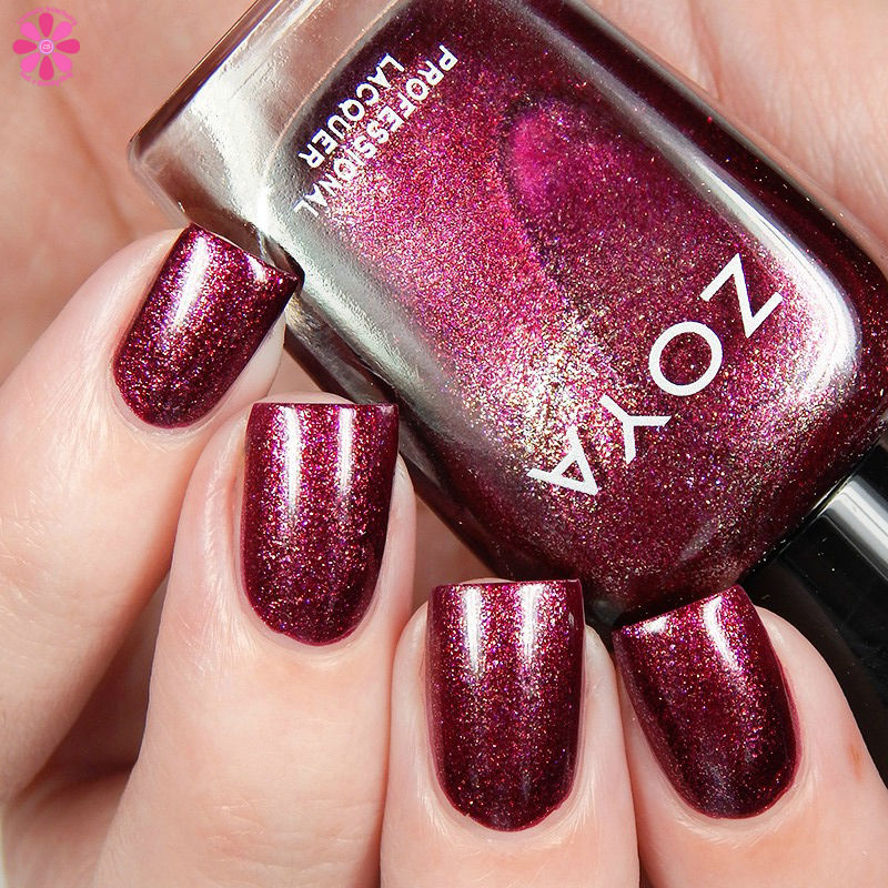 Zoya Fall 2016 Urban Grunge Metallic Holos Britta Up