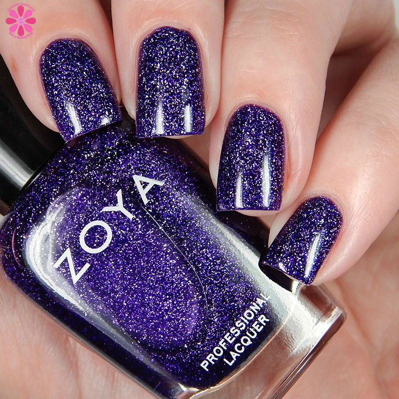 Zoya Fall 2016 Urban Grunge Metallic Holos Finley Down