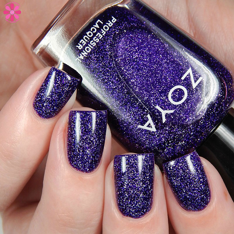 Zoya Fall 2016 Urban Grunge Metallic Holos Finley Up