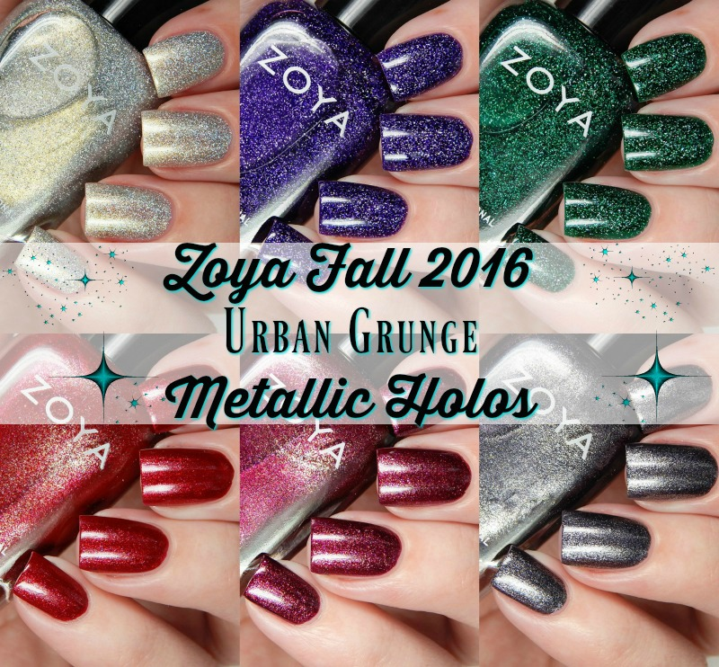 Zoya Fall 2016 Urban Grunge Metallic Holos Main