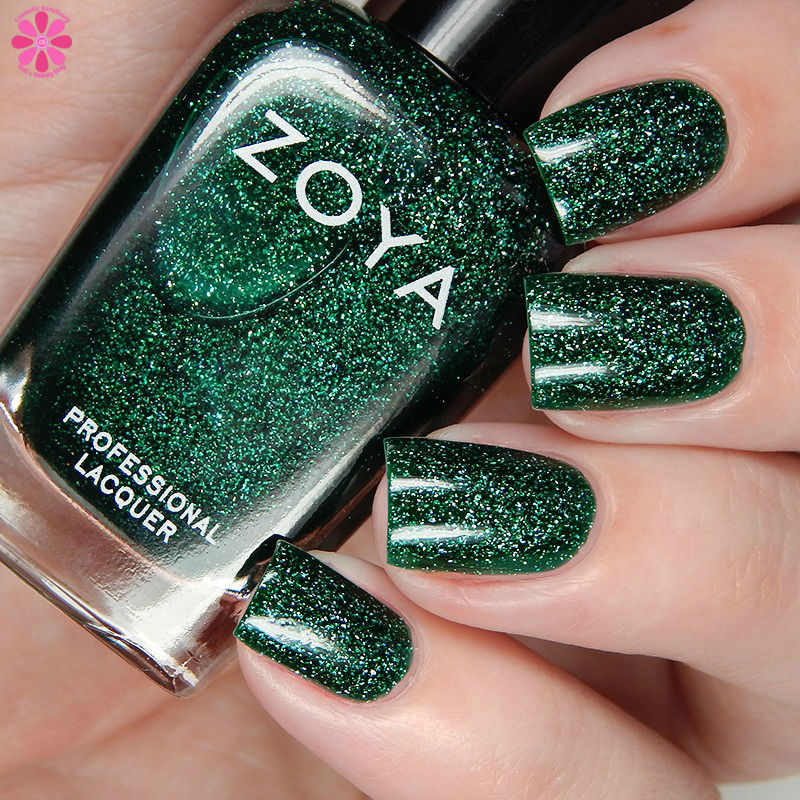 Zoya Fall 2016 Urban Grunge Metallic Holos Merida