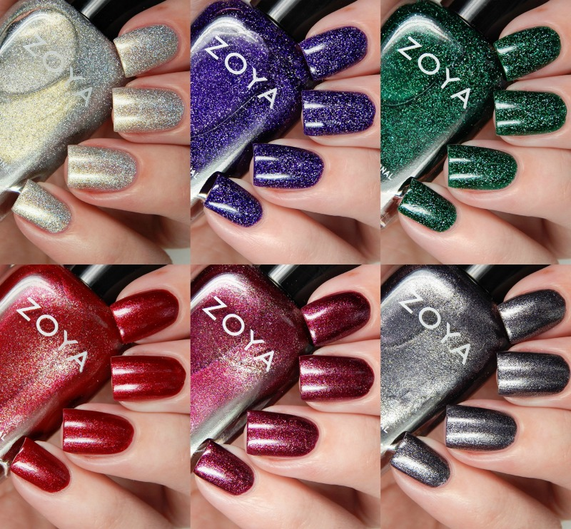 Zoya Fall 2016 Urban Grunge Metallic Holos Collection