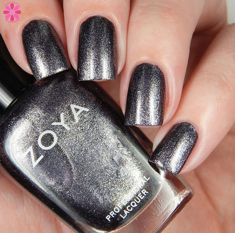 Zoya Fall 2016 Urban Grunge Metallic Holos Troy  Down