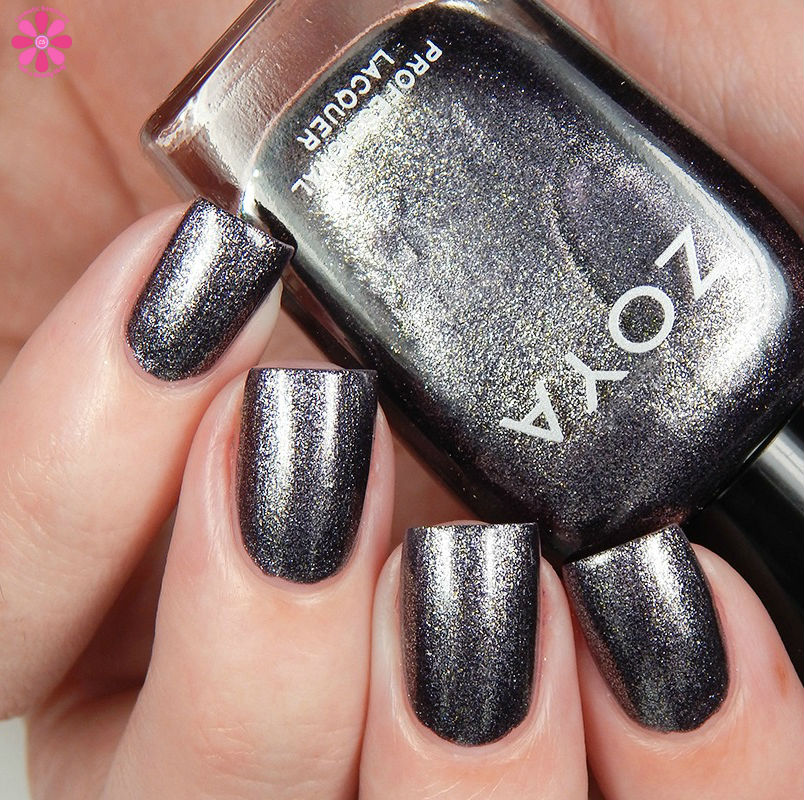 Zoya Fall 2016 Urban Grunge Metallic Holos Troy  Up