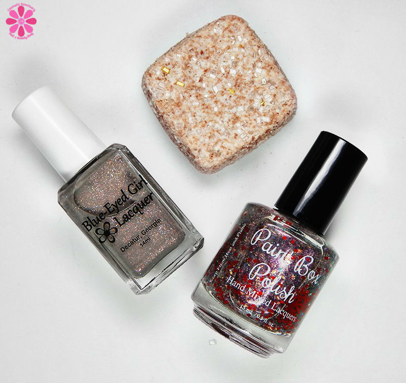 Blue Eyed Girl Lacquer September 2016 Destination Duo