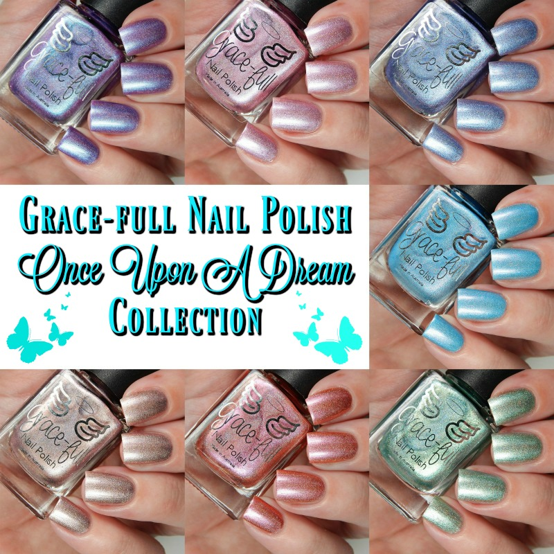 Gracefull Nail Polish Once Upon A Dream Collection Main