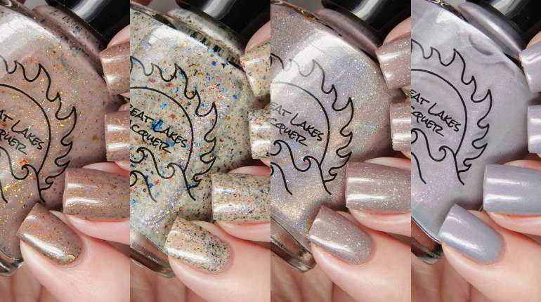 Great Lakes Lacquer A Nude Awakening Collection
