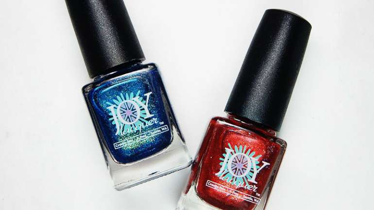 Joy Lacquer Duo For Crystal's Charity Lacquers