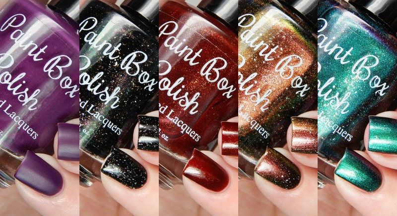Paint Box Polish The 12 Collection