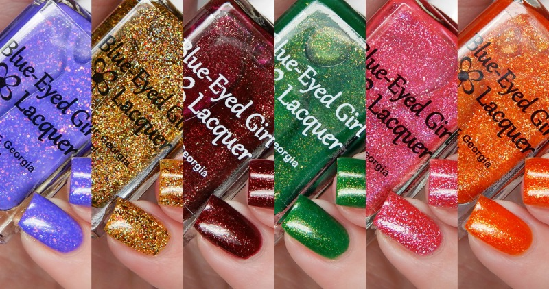 Blue Eyed Girl Lacquer Room With A View Collection & November Destination Duo
