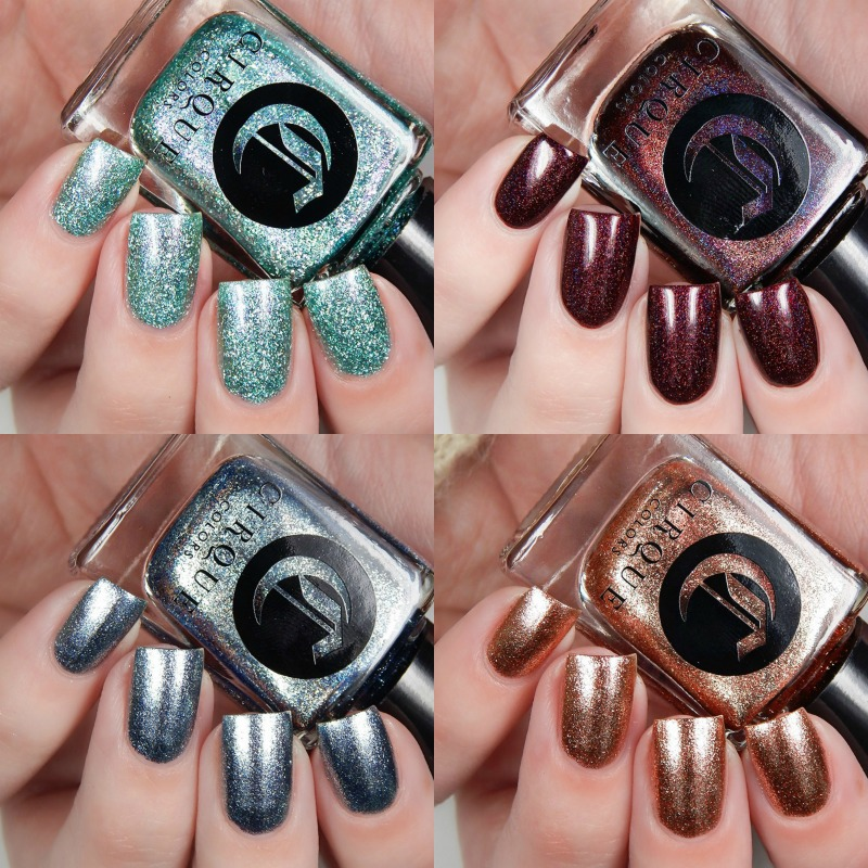 Cirque Colors Holiday 2016 Collection