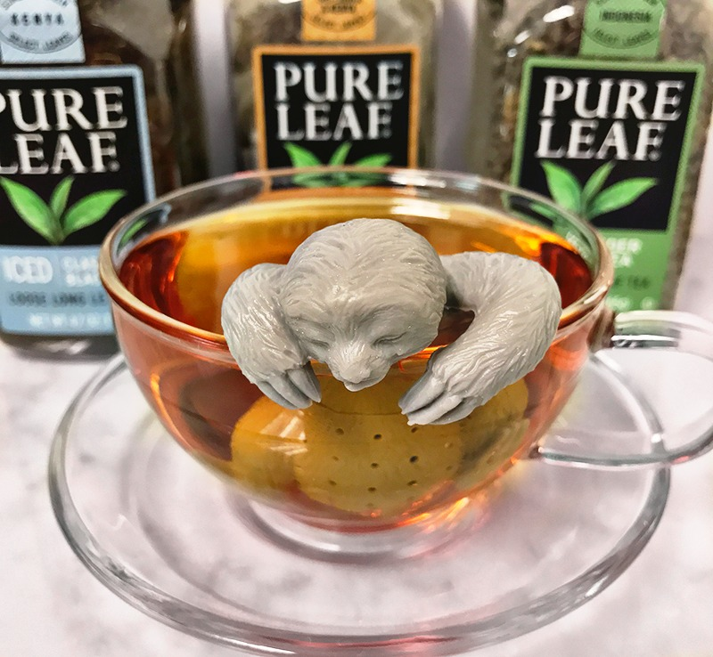 Letting Loose & Cozying up with Pure Leaf