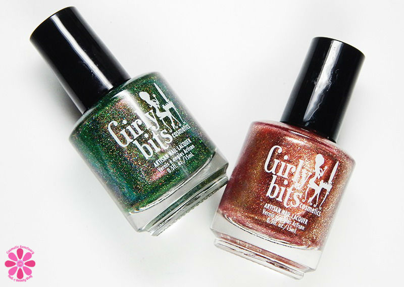 Girly Bits December 2016 Color Of The Month Duo