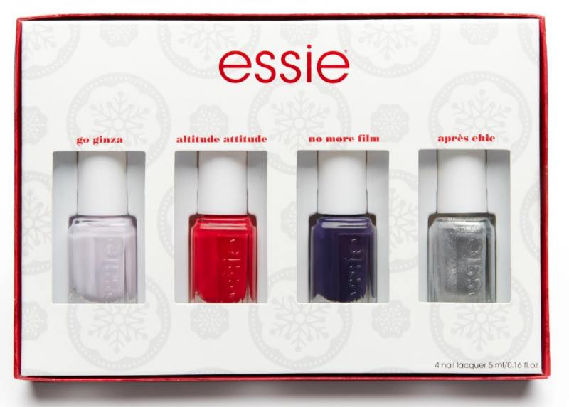 Essie Holiday 2016 Mini Nail Polish Kit Review & Giveaway