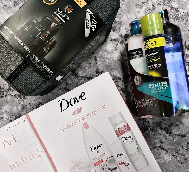 Dove, Axe & TRESemme Holiday Gift Packs at Walmart
