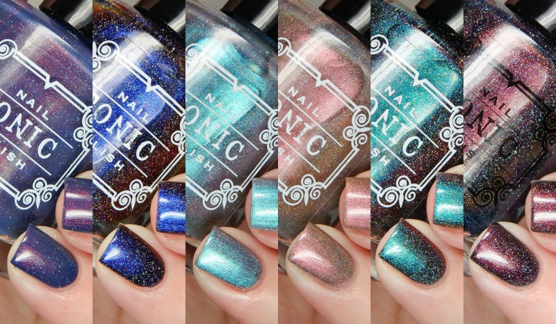 Tonic Nail Polish Holiday 2016 Collection Swatches and Review