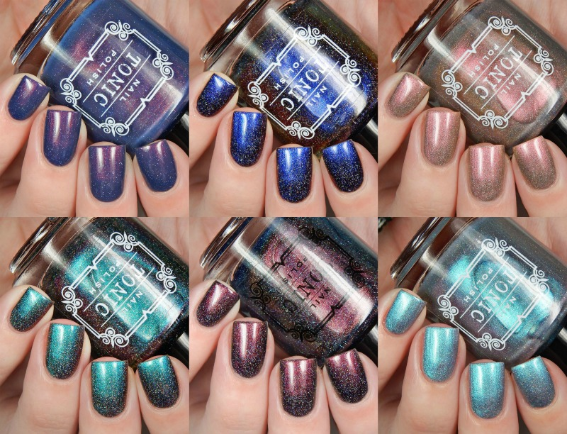 Tonic Nail Polish Holiday 2016 Collection