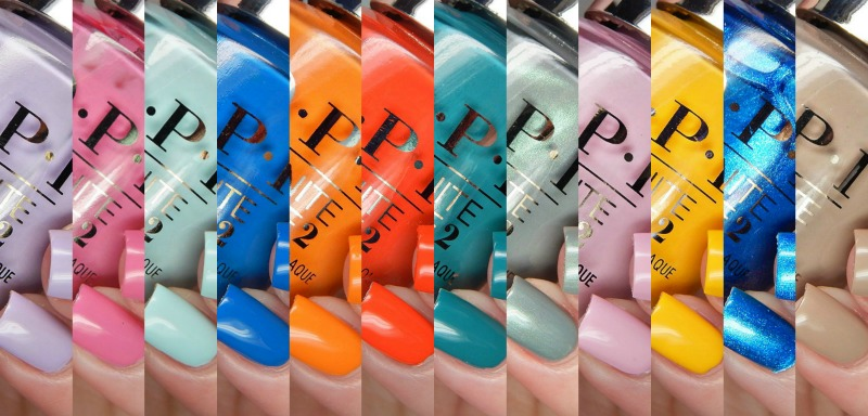 OPI Spring 2017 Fiji Collection