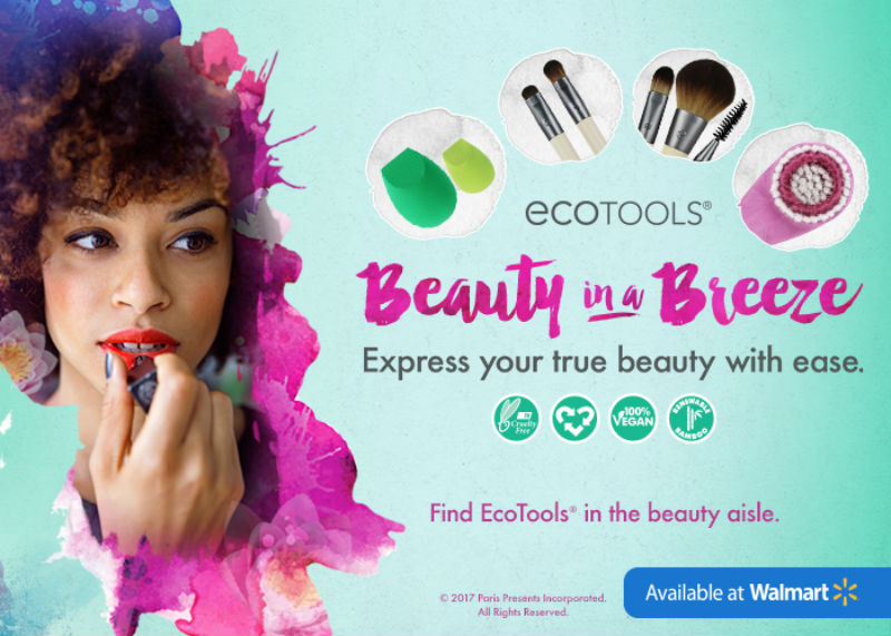 Get Beauty In A Breeze with Ecotools at Walmart Sponsored by