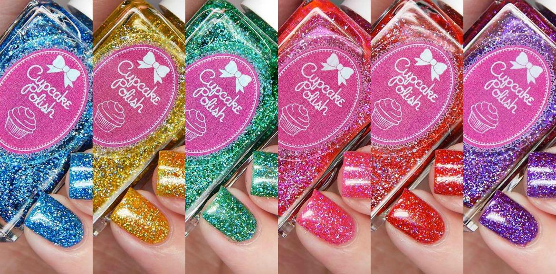 Cupcake Polish Candy Land Collection