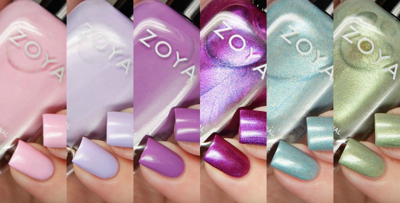 Zoya Spring 2017 Charming Collection