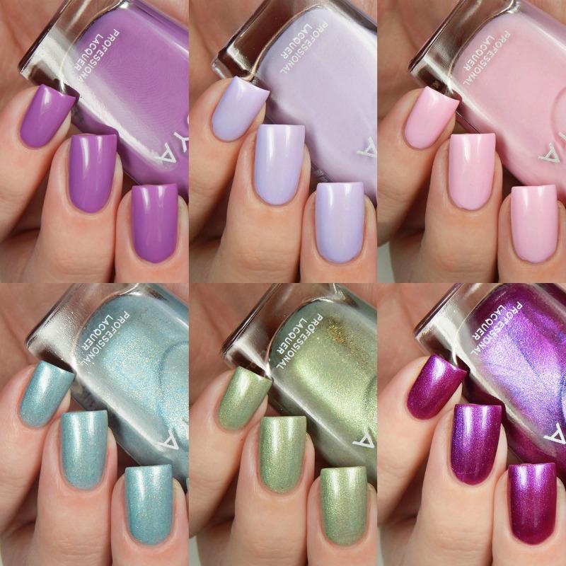 Zoya Nail Polish Spring 2017 Charming Collection Main - Cosmetic ...