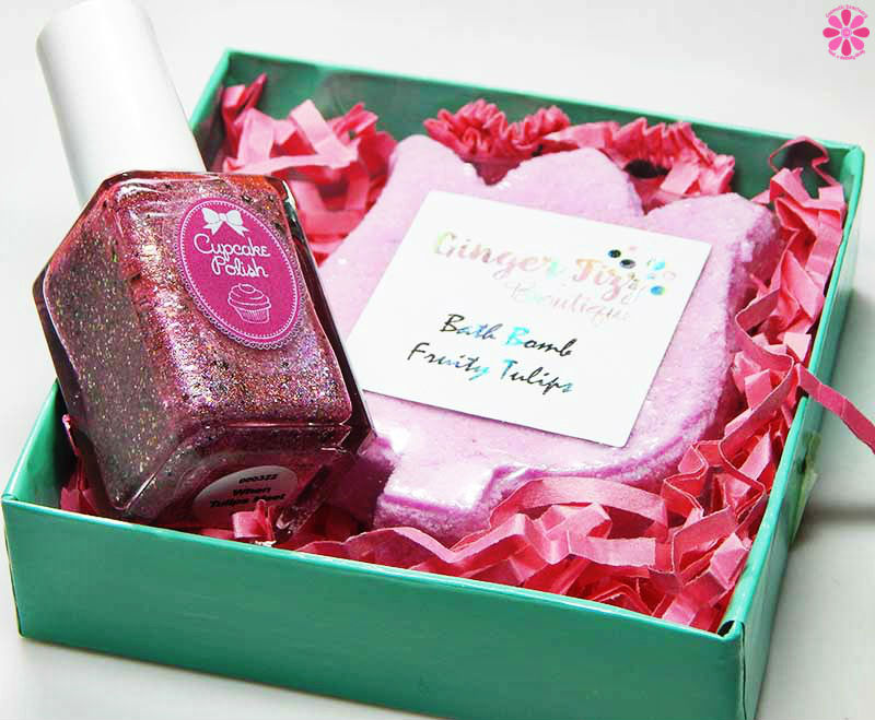 Cupcake Polish & Ginger Fizz Boutique Mother's Day Duo