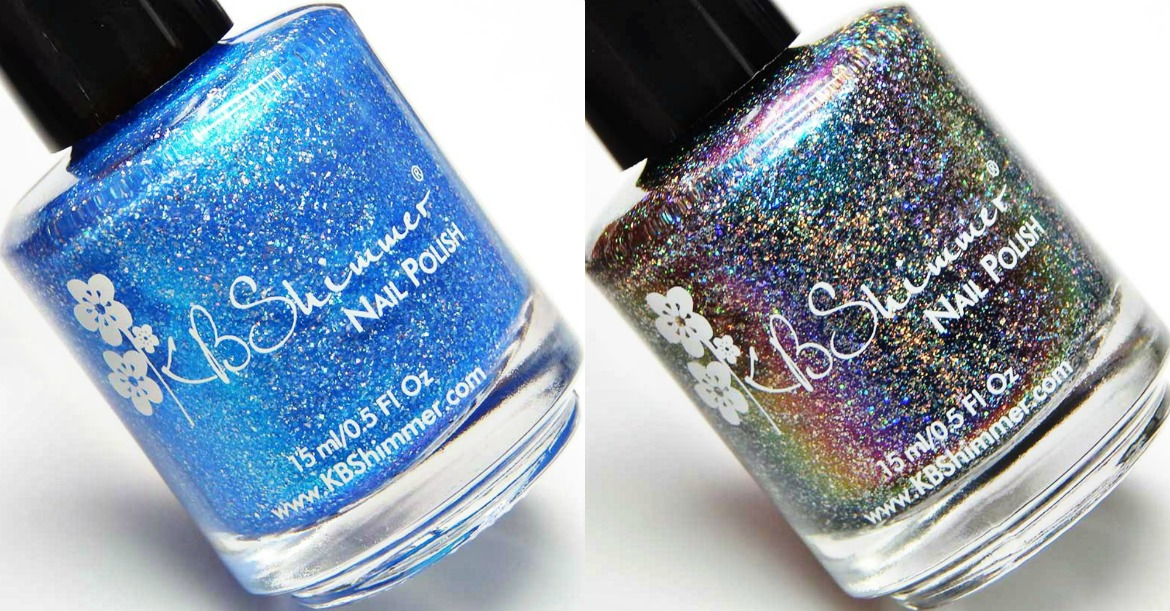 KBShimmer We Make Your Dreams Come Blue & Grand Prospect Holo
