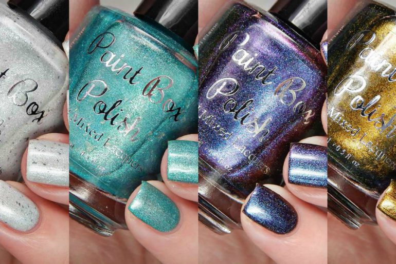 Paint Box Polish On The Hook Collection Swatches and Review