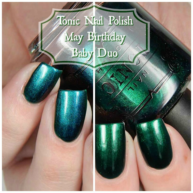 Tonic Nail Polish May Birthday Baby Duo Swatches and Review