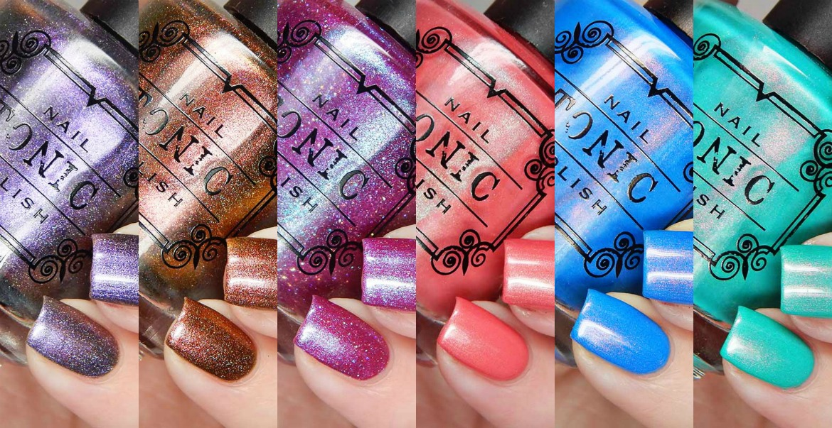 Tonic Nail Polish Spring 2017 Collection Swatches and Review