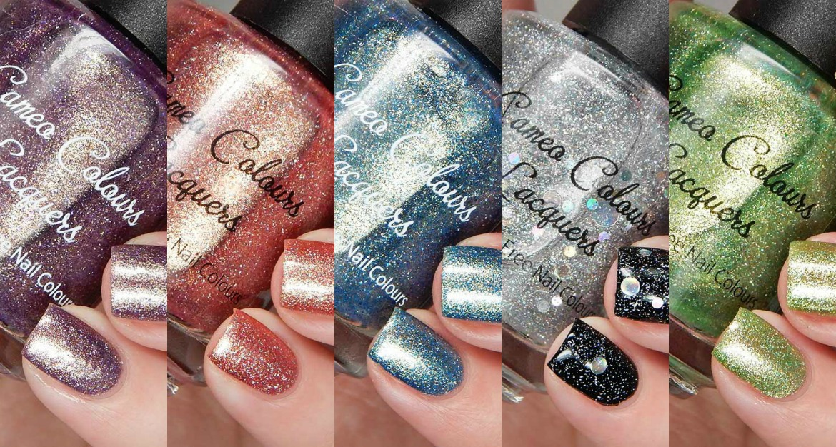 Cameo Colours Lacquers The Floral Feelings Collection