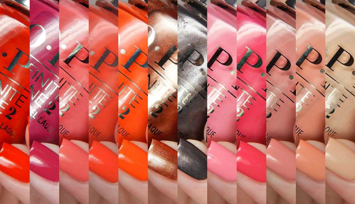OPI Summer 2017 California Dreaming Collection