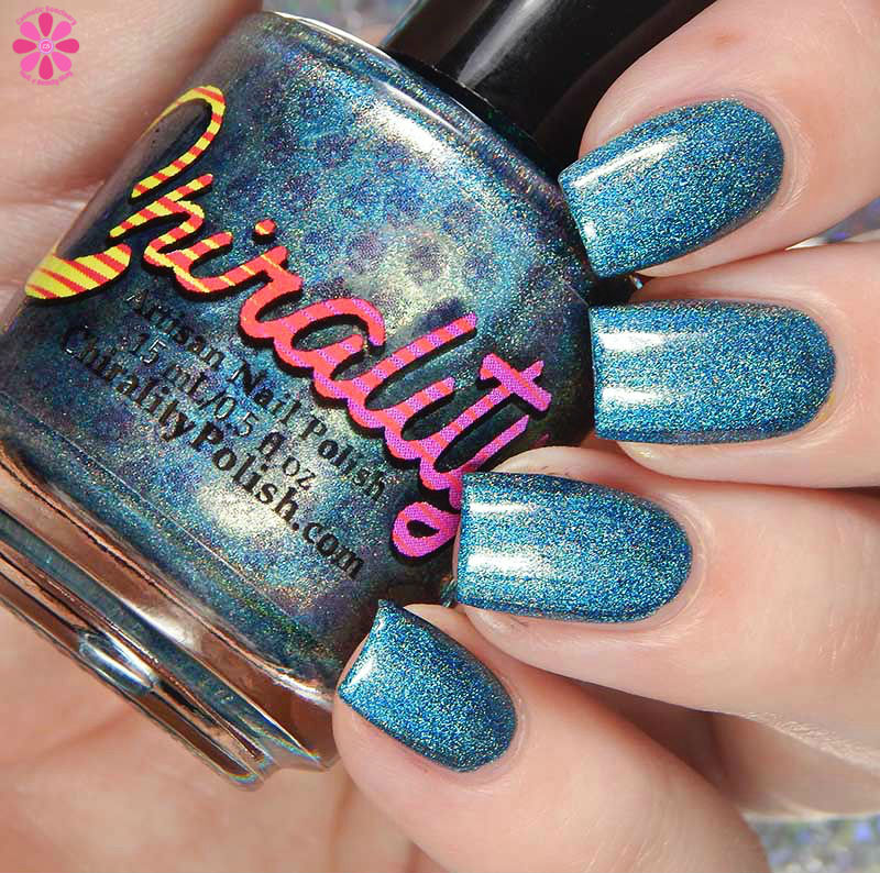 Chirality Nail Polish Blended Frost Swatches and Review